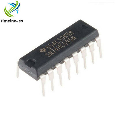 20pcs DIP-16 2.0 ~ 6.0 V TOP SN74HC595N 74HC595 8-Bit Shift Register