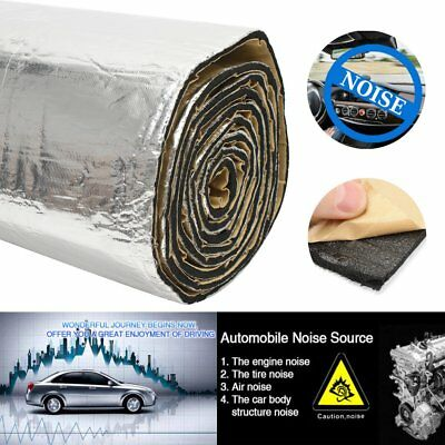 "32sqft 6mm Sound Deadener Car Heat Shield Insulation Material Deadening 118""x39"""