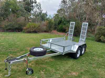 10X5 Machinery Hot Dip Galvanised Trailer 3200 Kg Atm On Sale Now