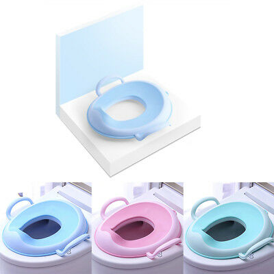 3 Colors Children Baby Potty Training Toddler Practical Toilet Seat Comfortable