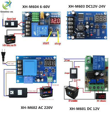 1PCS Battery Charging Control Board Charger Power Supply Switch Module