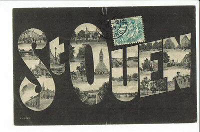 CPA - Carte postale -  FRANCE Saint Ouen - Carte fantaisie-1905- S 2534