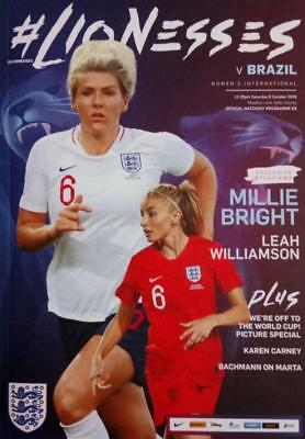 * 2018 - ENGLAND WOMEN v BRAZIL WOMEN (INTERNATIONAL FRIENDLY - 6th October) *