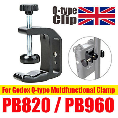 FOR Godox Q-type Battery Hook Clamp Clip Mount for PB820 PB960 Flash Power Pack