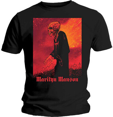 Marilyn Manson 'Mad Monk' T-Shirt - NEW & OFFICIAL!