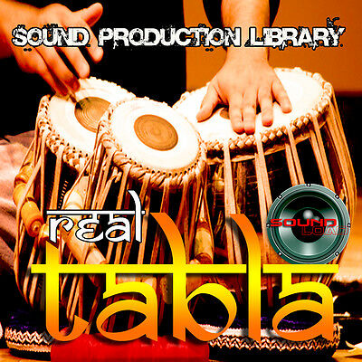 TABLA REAL - Large unique Perfect WAVE/NKI Multi-Layer Samples Library on DVD