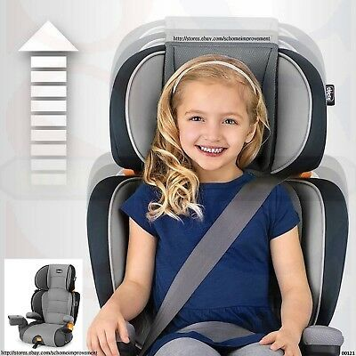 Chicco KidFit Zip 2-In-1 Belt Positioning Booster Car Seat Adapt Growing Child-S