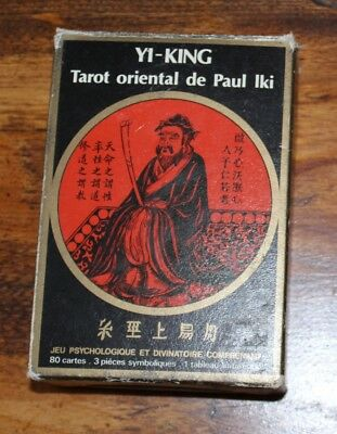 Vintage Yi-King tarot cards deck complete