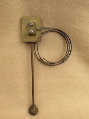 Antique Brass And Steel Ting Tang Clock Gong Block