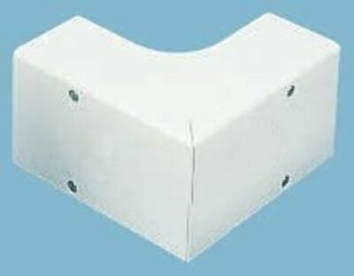 Schneider Electric uPVC 50 x 50mm Cable Trunking External Angle PVC