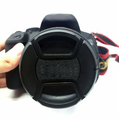 52mm Front Lens Hood Cap Cover for all Canon Lens Filter with cord AZ