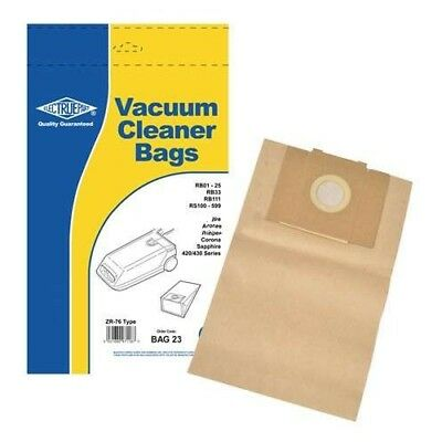 Replacement ZR76 Dust Bag - BAG23 For Delonghi 497533