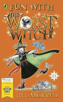 Murphy, Jill, Fun with The Worst Witch (World Book Day), Paperback, Very Good Bo