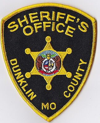 Dunklin County Sheriffs Office Police Patch Missouri MO