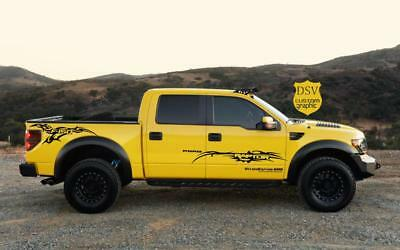 Graphics Racing Line Sticker Car Side Stripe Decal For FORD RAPTOR F-150