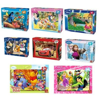 24, 30, 50, 99, 100 Piece Disney Jigsaw Puzzles Choice of 45 Childrens Designs