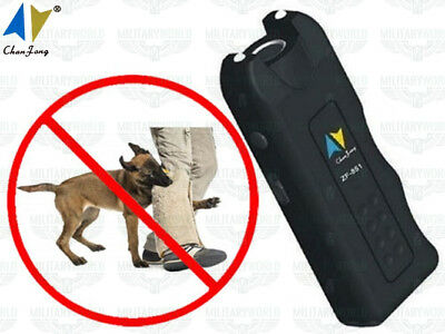 Super Ultrasonic Dog Chaser repellente per cani aggressivi ad ultrasuoni 130dB