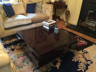 Nine schools Oriental Coffee Table