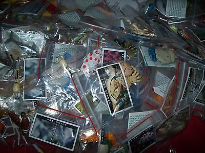 Yowies Bulk Lot  * 50 Rare/endangered Early Cadbury Series Mix+Papers