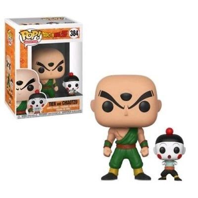 "Dragon Ball Z Gohan Tien & Chiaotzu 3.75"" Pop Vinyl Figure Funko 383"