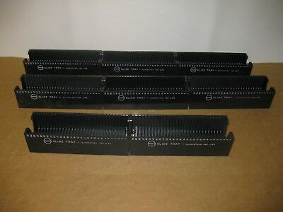 8 Mico Slide Trays for TDC, Bell & Howell, Viewflex, AO Executuive, & Keystone