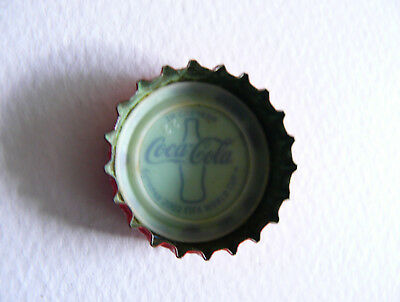 Rare bottle cap Coca Cola, wining a special limited bottle FIFA World Cup 2002