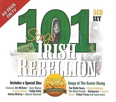 Various-101 Songs Of Irish Rebellion (US IMPORT) CD NEW