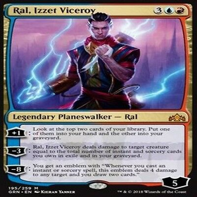 MTG MAGIC GUILDS OF RAVNICA GRN VO M Ral, Izzet Viceroy