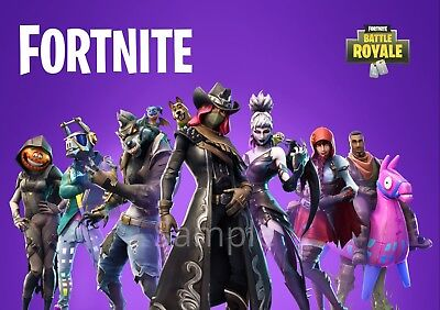 Fortnite Poster SEASON 6 *NEW* LATEST OCT 2018 Halloween A2 Large WALL ART