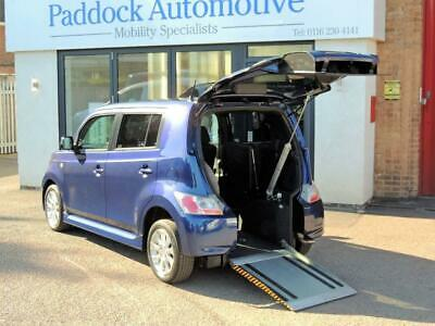 Daihatsu Materia  Auto Drive from WheelchairWheelchair Up Front Switch Vehicle