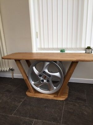 Tremendous Porsche Alloy Wheel Coffee Table Man Cave Reduced Gamerscity Chair Design For Home Gamerscityorg