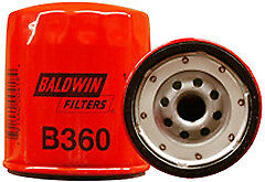 Baldwin Filters B360 Lube Filter, Spin-On