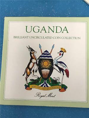 1987 Uganda Mint  Set Uncirculated Coin Collection