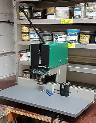 Nagel Citoborma 150 Paper Drill Punch Machine Good Condition With 2 Drill Bits