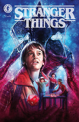 Stranger Things #1 Variant Cover C Lambert