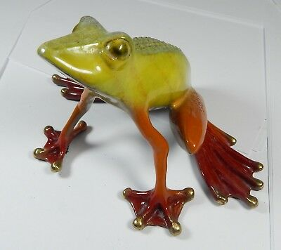 Barry Stein 2004 Bronze Frog Sculpture 11 / 1000