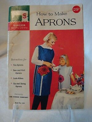 How to Make Aprons 1962 Vintage Singer Sewing Library Book No. 119
