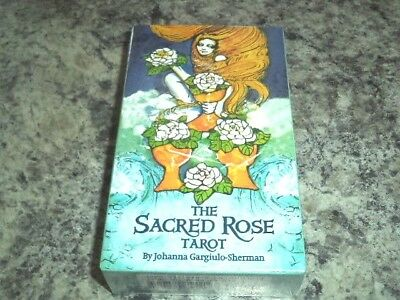 The Sacred Rose Tarot Deck - Tarot Cards US Games Systems New!