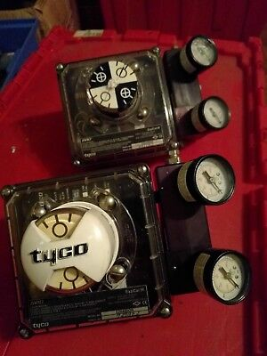 GUARANTEE (2) Tyco AVID Eazical IR EZ040DON Pneumatic Valve Positioner FREE SHIP