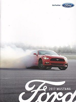 2017 Ford Mustang  Factory Original   Sales Brochure   36 Pages New