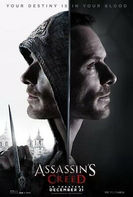 Assassin's Creed - Original DS Movie Poster - Authentic D/S One Sheet 27x40