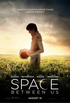 The Space Between - Original DS Movie Poster - Authentic D/S One Sheet 27x40