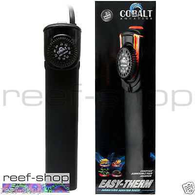 Cobalt Easy Therm 50 Watt Aquarium Heater Unbreakable Fast Free USA Shipping