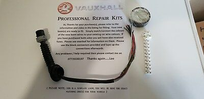 VAUXHALL / OPEL Astra H Rear Door - Wiring harness Repair kit -EXACTLY MATCHED