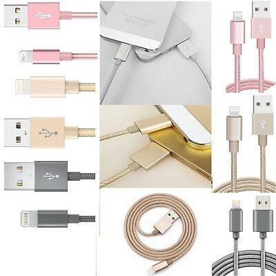 2M/3M Strong Lightning Duty Braided 2M 3M USB Charger Cable For iPhone 6 6S 7 8