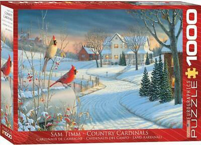 EuroGraphics Country Cardinals by Sam Timm Jigsaw Puzzle (1000-Piece)