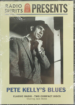 Pete Kelly's Blues - Classic Radio Crime Drama - 4 Remastered Episodes on CD NEW