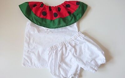 Broderie Anglaise Watermebloomer set girls baby's summer sping clothes handmade