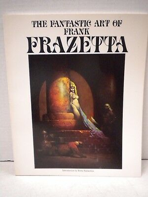 Fantastic Art Of Frank Frazetta Book