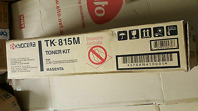Kyocera TK 815M Genuine Magenta Toner Cartridge